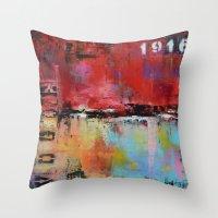 vogue Throw Pillows featuring Vogue by ModernHomeDecor