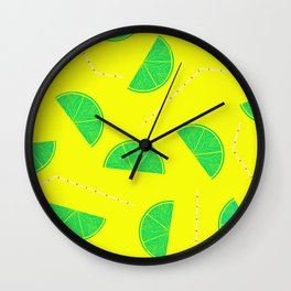 Summer Drinks - Lemonade Wall Clock
