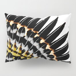 Feather Fringe Pillow Sham
