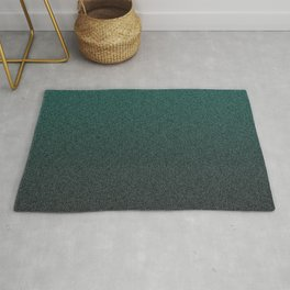 Speckled Teal Fade Rug