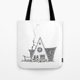 Hermit Cabin Tote Bag