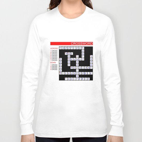 Crossword Long Sleeve T-shirt