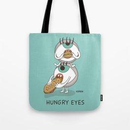 Hungry Eyes Tote Bag