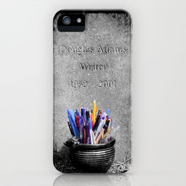 The Grave of Douglas Adams iPhone Case