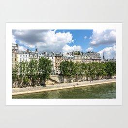Paris Seine Views Art Print