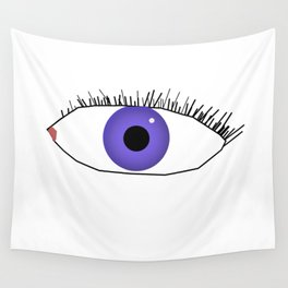 Eye doodle Wall Tapestry