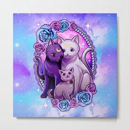 Luna Artemis & Diana Metal Print