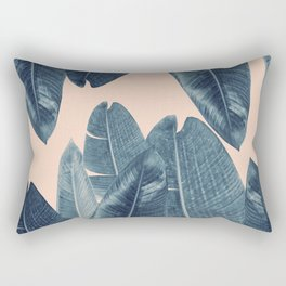 Banana Leaves - Cali Vibes #4 #tropical #decor #art #society6 Rectangular Pillow