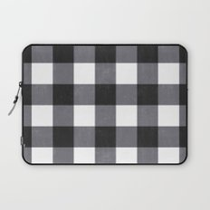Gingham Dark Style Laptop Sleeve