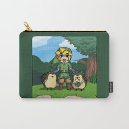 Legend of Zelda Skyward Sword: Link and Kikwis Carry-All Pouch