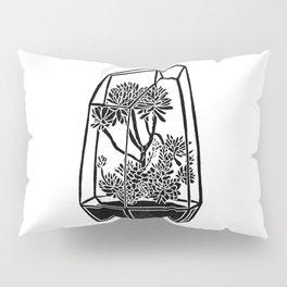 Terrarium Block Print Pillow Sham
