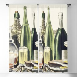 Advertisement The Best Wines Liquors Ales  Lager Beer we are selling Here by LN Rosenthal Blackout Curtain