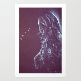 Gypsy Queen Art Print