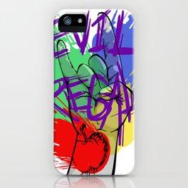Evil Regal3 iPhone Case