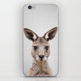 Kangaroo 2 - Colorful iPhone Skin