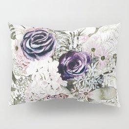 Purple Bouquet Pillow Sham