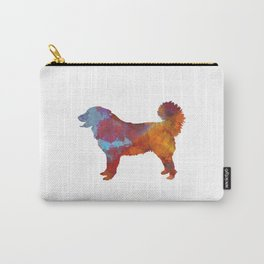 Yugoslavian Shepherd Dog in watercolor Carry-All Pouch