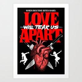 Love Apart Art Print