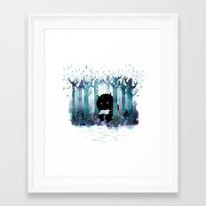 A Quiet Spot Framed Art Print