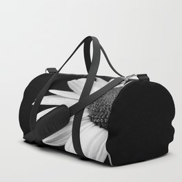 Half Daisy in Black and White Duffle Bag