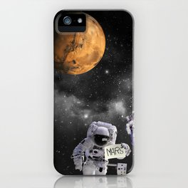 Hitchhiker Astronauts iPhone Case