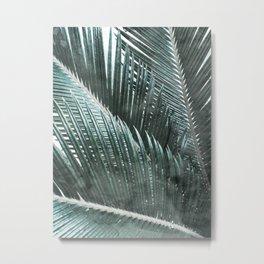 Simply Palms Metal Print