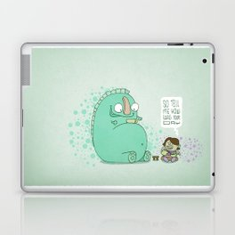 Monster and Tea Laptop & iPad Skin