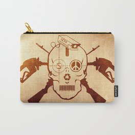 Doom Skull, Beware! Wild West Style Carry-All Pouch