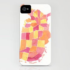 Home is wherever I'm with you iPhone (4, 4s) Slim Case
