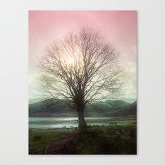 Village Green Tree Canvas Print