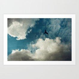 Same Old Sky Art Print