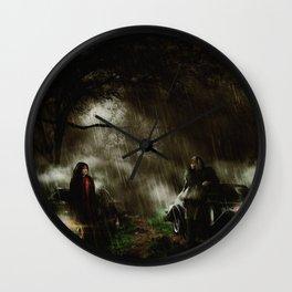 The Queen vs De Vil Wall Clock