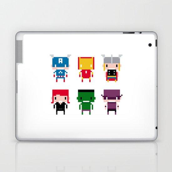 Pixel Avengers Laptop & iPad Skin