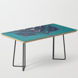 Blue Mandala Coffee Table