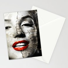 Marilyn Monroe - Wall painting Stationery Cards