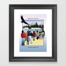 All My Relations Framed Art Print