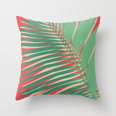 Atom Palm Throw Pillow