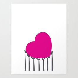 Pass the Love Art Print
