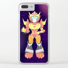 Rodimus S1 Clear iPhone Case