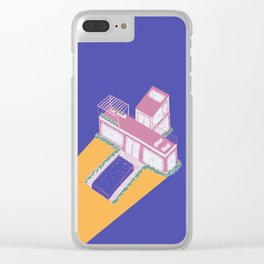 Letter X of 2019 Clear iPhone Case