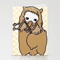 fili Stationery Cards featuring Dwarpacas(Fili) by Lady Cibia