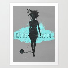 Kulture Couture Art Print