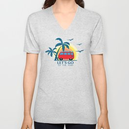 Go Surf Unisex V-Neck