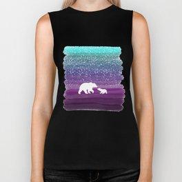 Bears from the Purple Dream Biker Tank