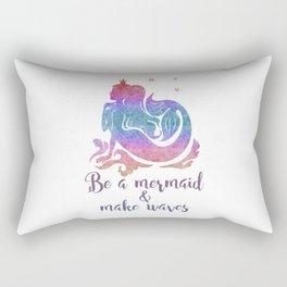 BE A MERMAID Rectangular Pillow