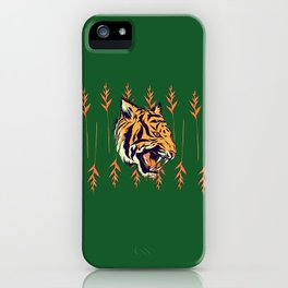 Blood Tiger II iPhone Case