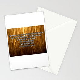 Who do you become? Phil Coulson Stationery Cards