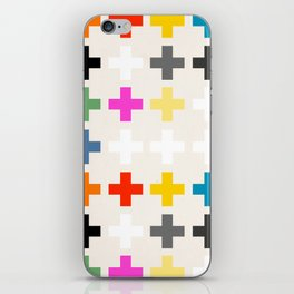 Crosses II iPhone Skin