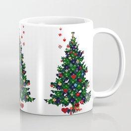 Plaid Christmas Tree Coffee Mug