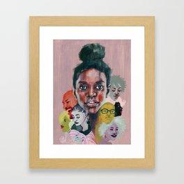 All Together Now Framed Art Print